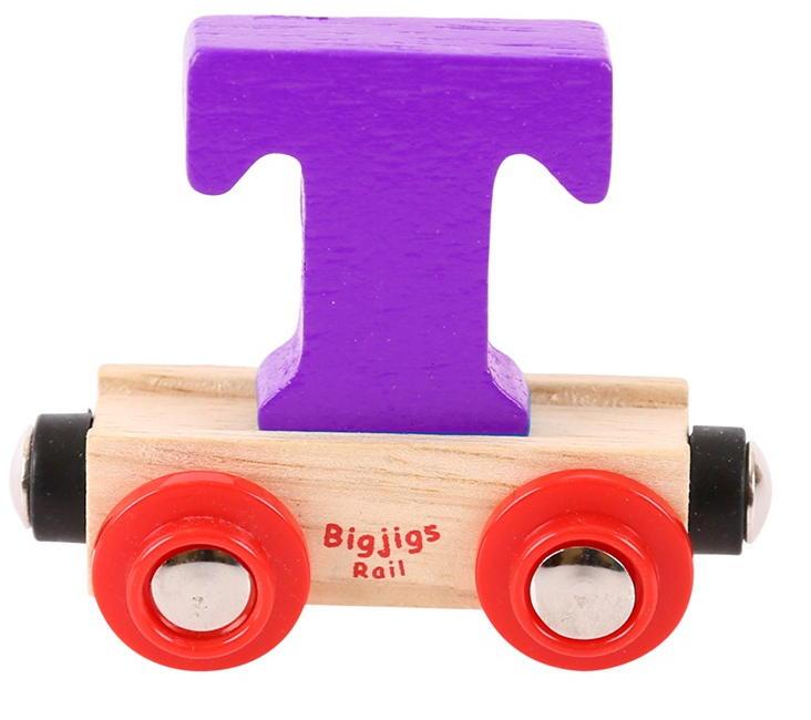 Babywinkel Het Rietje, Big Jigs rail vrolijke houten